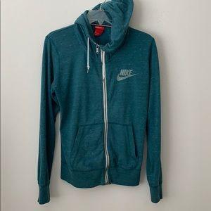 Nike hoodie zip up jacket M